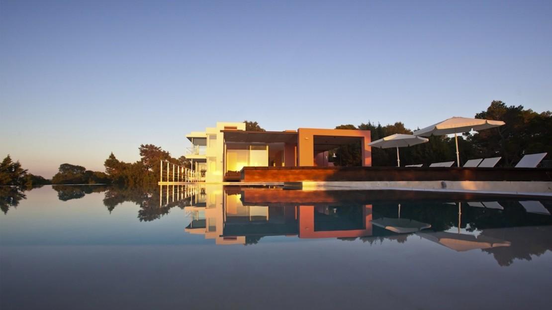 Luxury villa rental, Ibiza, sunset views