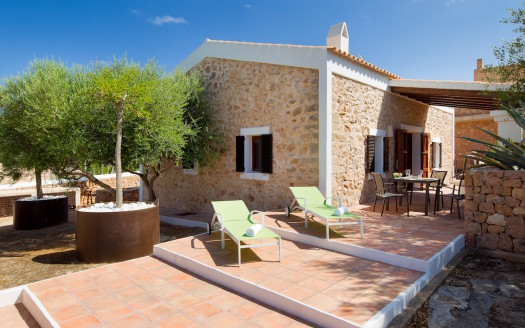 Holiday house rental in Formentera
