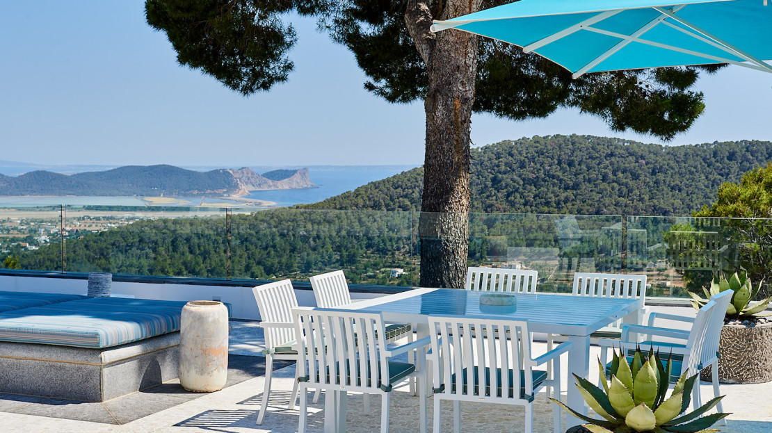 One of the most pretigious home of island, only 10 minutes drive from Ibiza town
