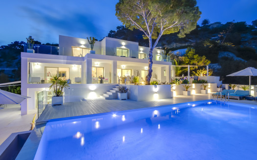 Luxury villa with sea access, Ibiza