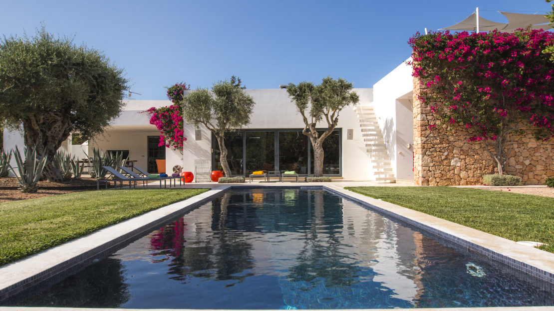 4 bed eco-friendly villa to rent in San Rafael, Ibiza