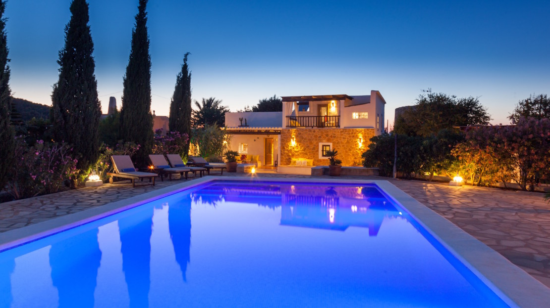 Friendly family house to rent in Ibiza