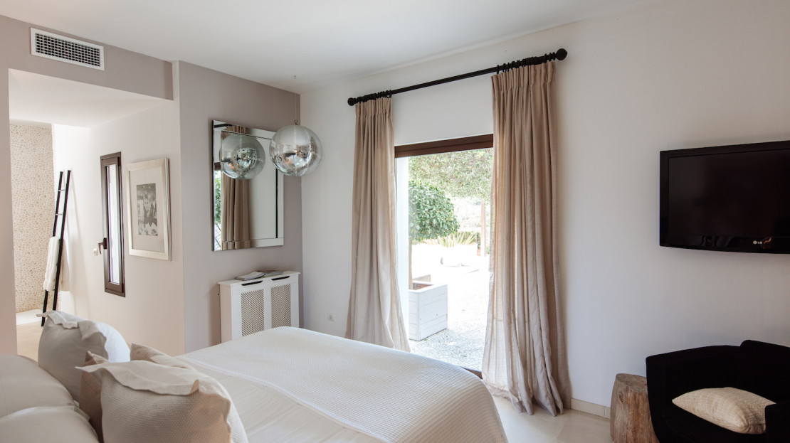Can Riviera is a Ibiza 6 bedroom Luxury villa and child-friendly, Spain