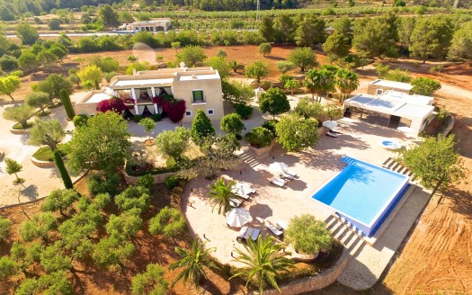 Farmhouse to rent in the north of Ibiza, Balearic island, Spain