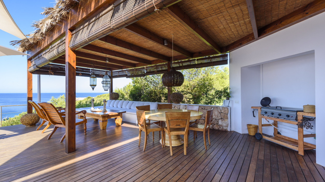 Ibiza Luxury Travel. 5 bed villa with direct sea access from the property