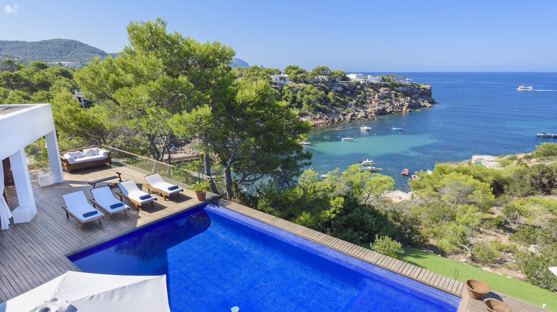 Villa with sea access, south Ibiza