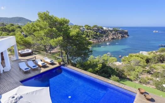 Villa with sea access, south Ibiza
