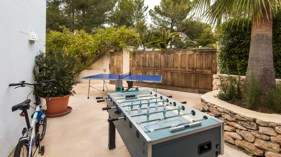 Family-friendly luxury villa to rent in Porroig, Ibiza Island, Spain