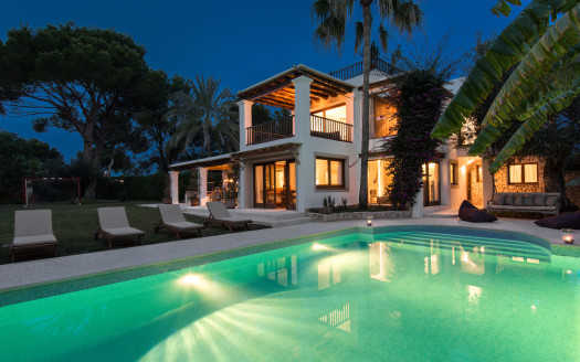 Private villa to rent, Ibiza island
