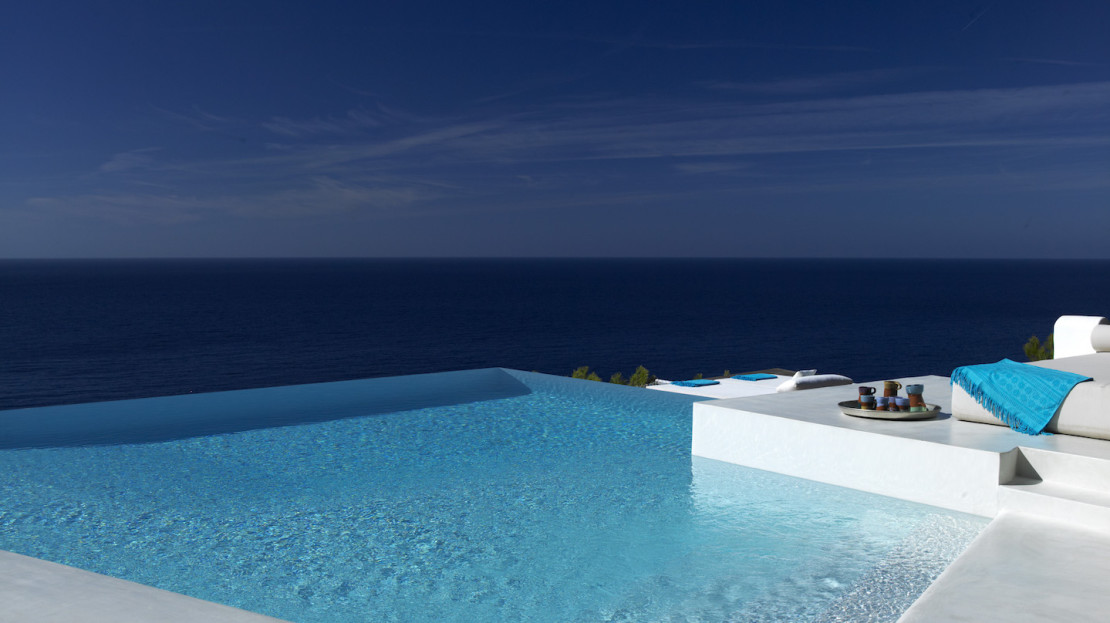Prestige property with direct sea access, South Ibiza