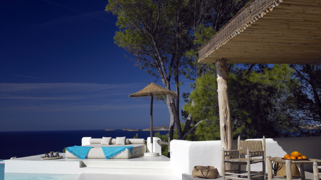 Prestige property with direct sea access, cala Moli, Ibiza