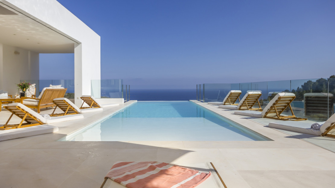 Exclusive private home to rent in Ibiza