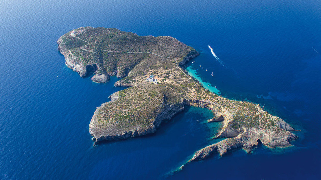 Private island to rent in Ibiza