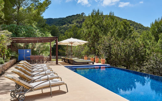 Family-friendly villa rental, Ibiz, Balearic island, Spain