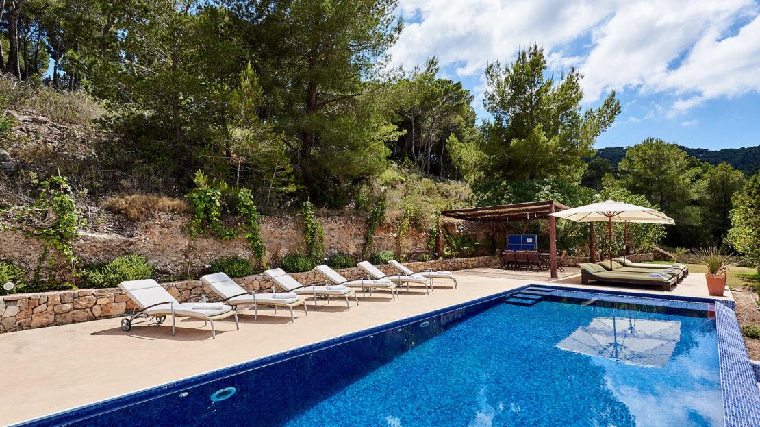 Family-friendly villa rental, Ibiza, Balearic island, Spain