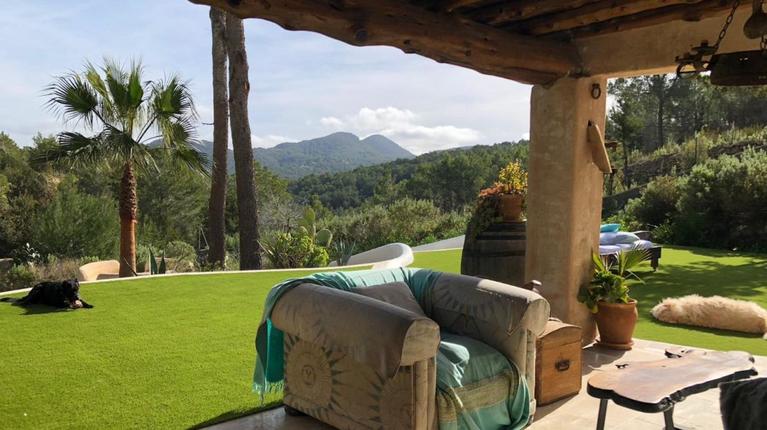 Countryside house property for sale with stunning views in Ibiza, Balearic island, Spain
