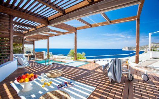 5 bedroom frontline villa to rent in San José, Ibiza, Spain